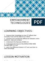 Chapter1 - Empowerment Technologies