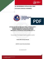 Almeyda Estefani Estudio Prefactibilidad Produccion Galletas