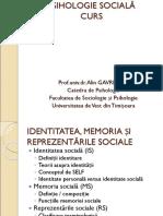Psihologie Sociala Gavreliuc 13 Identitatea Memoria Si Reprezentarile Sociale2