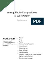 photo editing  work order2017