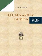 Fulton j. Sheen El Calvario y La Misa