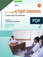 Developing English Competencies untuk SMA/MA Kelas XI
