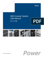 INEX 48V Inverter Operating Manual