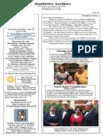 Columbiettes - June 2017 Newsletter