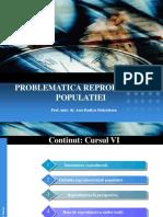 Curs VI Demografie Problematica Rep Populatiei