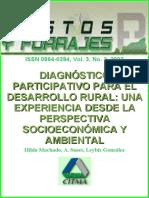 Diagnostico Participativo Para El Desarrollo Rural Socioeconomico