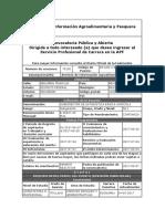 Servicio de Información Agroalimentaria y Pesquera