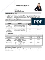 Professional Resume Format (8).doc