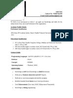 Professional Resume Format (13).doc