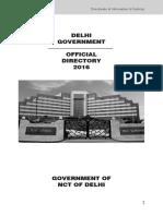 Online Directory 2016 Delhi Govt