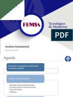 Analisis Fundamental FEMSA 2016