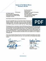 Interior Appropriations U.S. Holocaust Memorial Museum Letter