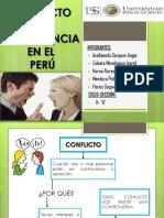 Conflictos de Convivencia Del Perú