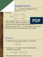 Apuntes - Matriz Fundamental