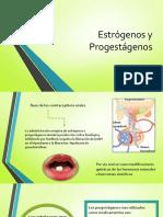 Estrógenos y Progestágenos farmacologia