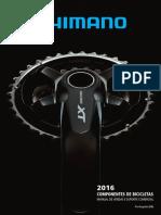 Catalogo Shimano 2016