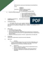 Plan de Implementación de Aula de Matematica