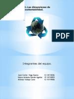 Presentación Del Tema 1.3 Las Dimensiones de La Sustentabilidad