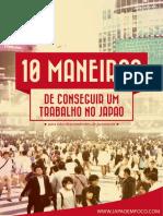 10 Maneiras de Trabalhar No Japão Para Não Descendentes de Japoneses