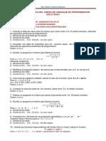 Segunda Práctica Del Curso de Lenguaje de Programacion