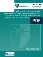 [GuL] NICE RCPCH 2016 - Spasticity in Children and Young People With Non-progressive Brain Disorders