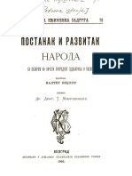 Valter Bedžhot-Postanak i Razvitak Naroda 1902