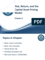 Ch 06 - Risk, Return, And the Capital Asset Pricing Model