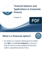 Ch 08 - Financial Options