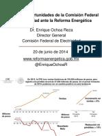 Presentacion Pesos Presentacion Reforma y Cfe