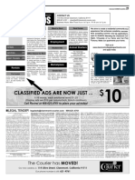 Claremont COURIER Classifieds 6-9-17