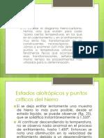 4.1.1 Puntos Criticos Del Hierro Acero