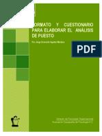 formato y cuestionario para análisis de puesto