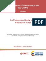 La Protección Social de La Población Rural