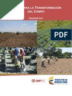 Diagnóstico de La Ciencia, Tecnología e Innovación en El Sector Agropecuario-CORPOICA