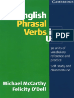 Phrasal Verbs in Use McCarthy