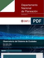 Sistema de Ciudades DNP - 8_Sirly Castro - Observatorio Sistema de Ciudades