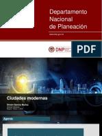 Sistema de Ciudades DNP - 7_Simón Gaviria - Ciudades Modernas