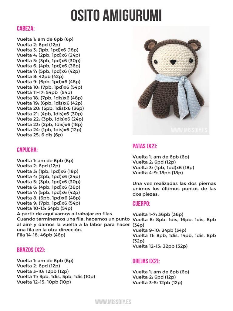 2019 Best Amigurumi Crochet Bear Free Patterns - Amigurumi ... | 1024x768