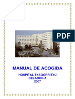 Manual Acogida Celadores- Hospital Txagorritxu