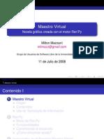 Proyecto Maestro Virtual