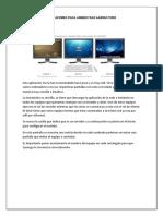 Aplicaciones Para Administrar Laboratorio