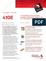 Snapdragon 410e Processor Product Brief