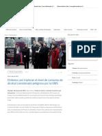 Chilenos Casi Triplican El Nivel de Consumo de Alcohol Considerado Peligroso Por La OMS - Ministerio de Salud