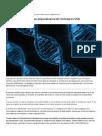 Estudios genéticos ratifican preponderancia de mestizaje en Chile « Diario y Radio Uchile