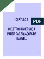 O Eletromagnetismo a Partir Das Equações de Maxwell (1)