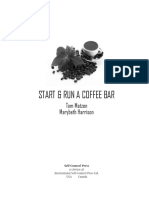 Opening a Coffee Shop Business Plan