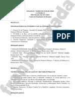Finanzas y Derecho Financiero Cátedra II.