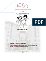 HO Guide Paediatric