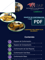 Equipos de Conformacion y Compactacion - Exp