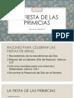 La Fiesta de Las Primicias